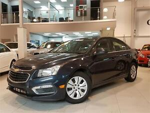 2015 Chevrolet Cruze LT-AUTOMATIC-REAR CAM-ONLY 55KM