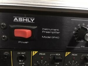 ASHLY PRE AMP & KORG KEYBOARD MIXER FOR SALE