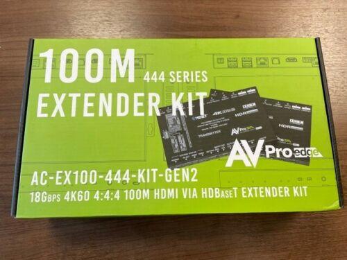 AVPro Edge AC-EX100-444-Kit Gen2 4K60 18Gbps 4:4:4 100m HDBaseT Balun Set