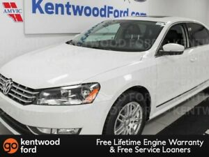 2013 Volkswagen Passat Highline FWD, NAV, heated power leather s