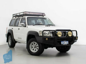 2007 Nissan Patrol GU IV MY07 DX (4x4) White 5 Speed Manual Wagon