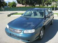 2002 Chevrolet Malibu 46000 km! Local one owner! Extra clean!