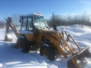 1977 Case M580C Construction King Backhoe For Sale by Tender
