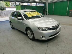 2010 Subaru Impreza G3 MY10 R AWD Silver 5 Speed Manual Hatchback Croydon Burwood Area Preview