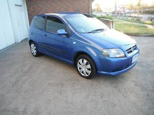 2007 Holden Barina TK MY08 Blue 4 Speed Automatic Hatchback