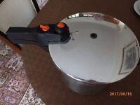6 Litre Prestige Stainless Steel Pressure Cooker