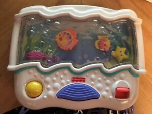 Mobile aquarium Fisher Price