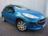 Peugeot 207 SW 1.4 VTI S ....Gorgeous....Low Miles....New MOT (No Advisories)....Panoramic Roof