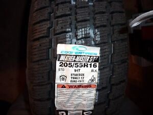 4 - NEW Cooper M&S Rated Weather-Master S/T2 Tires