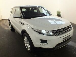2014 Land Rover Evoque LV MY14 TD4 Pure White 9 Speed Automatic Wagon Clemton Park Canterbury Area Preview