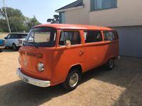 1975 Orange VW T2 Campervan for sale