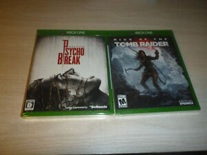 The Evil Within and Rise of the Tomb Raider both sealed