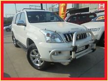 2004 Toyota Landcruiser Prado KZJ120R GXL White 4 Speed Automatic Wagon Holroyd Parramatta Area Preview