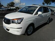 2013 Ssangyong Stavic A100 MY13 White 5 Speed Automatic Wagon Maidstone Maribyrnong Area Preview