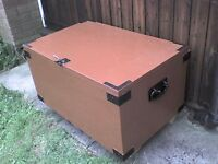 Wooden Storage Box with hinged Lid - Heathrow
