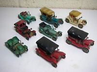 Collection of 8 Matchbox Models of Yesteryear