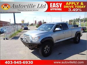 2010 Toyota Tundra Limited 4X4 Lifted , Leather