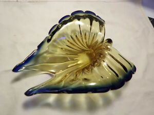 All things glass, vases, dishes, sculptures, vintage crystal