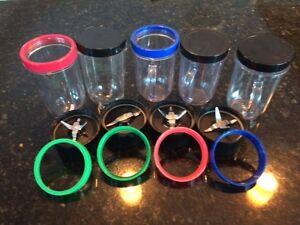 Magic Bullet Cups, Lids an Chopper Blades