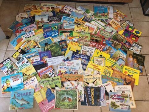 Lot of 20 Childrens Reading Bedtime-Story Time Kids BOOKS RANDOM HB/PB MIX