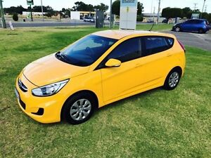 2015 Hyundai Accent RB2 MY15 Active Yellow 4 Speed Automatic Hatchback Maddington Gosnells Area Preview