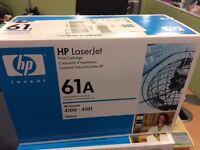 GENUINE HP C8061X Black Toner Cartridge 61X Laserjet 4101