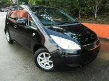 2007 Mitsubishi Colt RG MY07 ES Black 5 Speed Manual Hatchback Molendinar Gold Coast City Preview