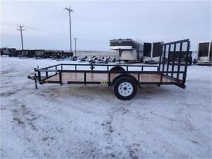 "6.5 x 14 Utility Trailer -*- 15"" Radial Tires + 4' Rampgate -*-"