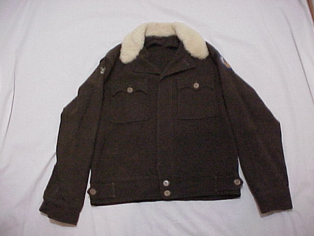 ORIGINAL & VG+ USAAF Type F-2 Outer Heated Flying Jacket (size 36) For Enlisted?