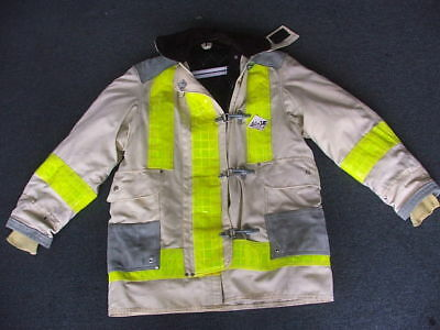 Janesville Chief Firefighter Turnout Jacketvariable Size New