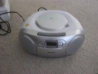 Philips CD/Radio/Cassette Boom Box