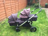 Baby Jogger City Select double buggy. Excellent condition. Ideal for twins or siblings.