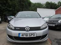 2011 61 VOLKSWAGEN GOLF 1.6 S TDI BLUEMOTION ***ZERO TAX***