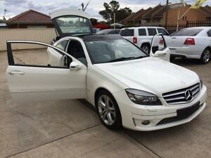 2009 Mercedes-Benz CLC200 Kompressor CL203 Evolution + White 5 Speed Automatic Coupe Queanbeyan Area Preview