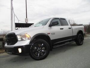 2016 RAM 1500 Outdoorsman ECO-DIESEL (47300 KMS, BLACKED OUT RIM