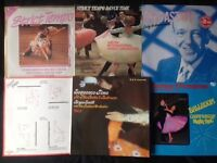 STRICTLY COME DANCING TUITION AND DANCE MUSIC JOBLOT 11 VINYL LP'S THAT'S £1 EACH!!
