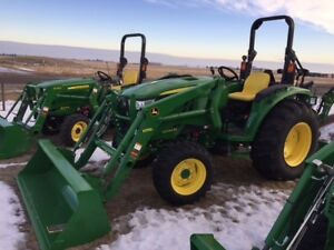 JOHN DEERE 4044M AND D170 ONLY 2 HOURS ON UNIT WITH WARRANTY