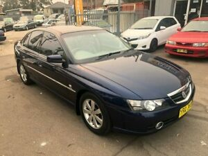 2003 Holden Calais VY Sedan 4dr Auto 4sp 3.8i Blue Automatic Sedan