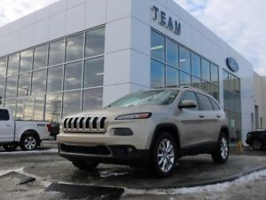 2014 Jeep Cherokee LIMITED, ACCIDENT FREE, ROOF RAILS, BLUETOOTH