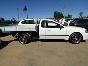 2006 Ford Falcon BF II White 5 Speed Manual Cab Chassis Moorooka Brisbane South West Preview