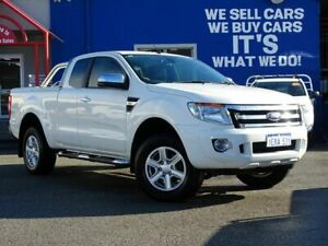 2014 Ford Ranger PX XLT Super Cab 4x2 Hi-Rider White 6 Speed Sports Automatic Utility Welshpool Canning Area Preview