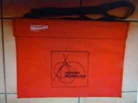 Design & Technology Canvas Carry Bag. Shoulder Strap. 47cm x 36cm. Handles.College/School/University