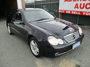 2002 Mercedes-Benz C180 CL203 Kompressor Blue 6 Speed Manual Coupe West Perth Perth City Area Preview