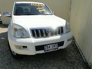 2004 Toyota Landcruiser Prado GRJ120R GXL White Manual Wagon Parramatta Park Cairns City Preview