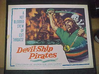 DEVIL-SHIP PIRATES, orig 1963 TC [Christopher Lee] - Hammer Production