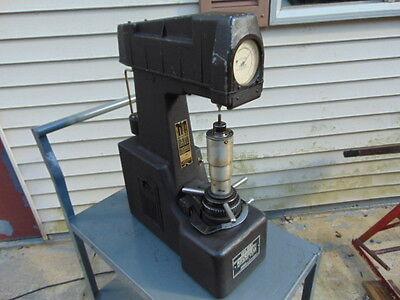 Rockwell Hardness Tester Model 3 Jr Wilson