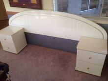 Bed Head, Dressing Table/Mirror and Bedside Tables Ensemble Brendale Pine Rivers Area Preview