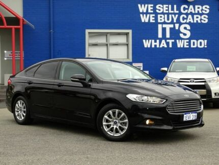 2015 Ford Mondeo MD Ambiente PwrShift Black 6 Speed Sports Automatic Dual Clutch Hatchback Welshpool Canning Area Preview