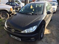 Cheap car of the day, 2004 Peugeot 206, starts and drives well, 1 years MOT (runs out December 2018)