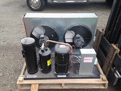 5 Horsepower Air Cooled Refrigeration Condensing Unit Part F3ad-a501-tfd-010